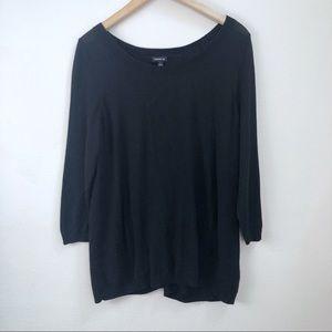 Torrid Split Back Sweater Size 1